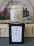 Handmade with love a maisonmummy French lavender soy candle by the delightful Dee..